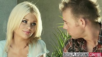 Hot blonde step daughter (Riley Steele) gets pounded by her stepdad - Digital Playground