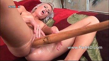 Hot Honey warms up with the baseball bat