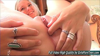 Melissa solo blonde xxx fingering anal pussy