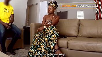 Piss Drinking Ebony Slut Anal In Front of Husband 5 min