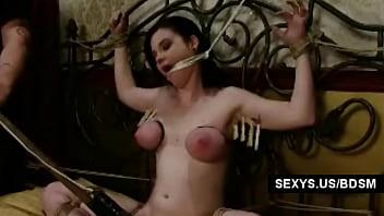 Seny naked - Big titted naked slave