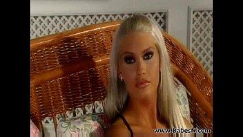 Hot Blonde fucks with mature
