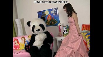 Fairy sex - Young fairy revived toy panda and suck
