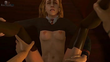 Hermione grangers breasts - Witchs potion perv garden