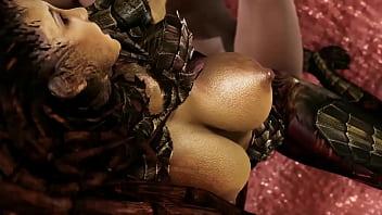Starcraft - Kerrigan gets creampied - 3D Porn