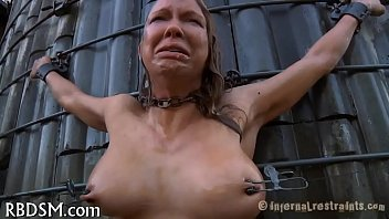 Hot chicks in latex Hottie in latex suit acquires punished