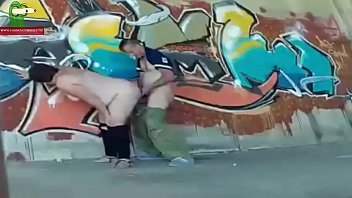Street fucking. MILF caught with a hidden spycam by a voyeur RAF101 Vorschaubild