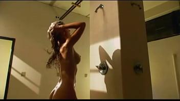 Cheerleader Massacre 2:  Sexy Nude Blonde Shower Scene