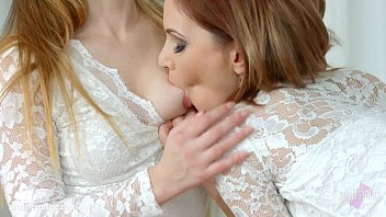 Shy girlfriend by Sapphic Erotica - Candy Sweet and Olivia Grace lesbians 14分钟