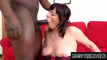 Granny Vs BBC - Chubby Mature Triss Gets Her Ass Reamed and Pussy Creampied
