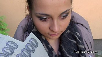 Couples fucking in street Czech amateur fucking pov in public for cash