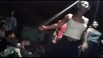 Desi Andhra hot nude aunties dance at bhogam melam preview image