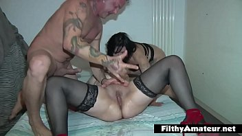 Divorced wife takes part in her first amateur orgy thumbnail
