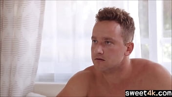 Brother stuffs his throbbing dick in Sister 6 min