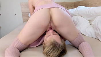 My Young Step Sister Twerking on My Face until Massive Orgasm - Femdom Facesitting - Mr PussyLicking