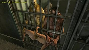 Lara Croft fuck toy in prison 3D porn 2 min