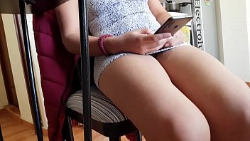 upskirt my brother's colombian wife