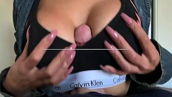 Amateur Latina Destiny Love Sportsbra Titjob