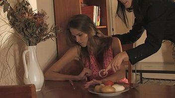 Skinny busty BDSM pornstar Silvie Delux nude, oiled, punished, bondage, whipped 10 min