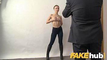 Adult agents - Fake agent big facial for sweet russian model with perfect ass and pussy