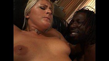 Blond slut loves black cock