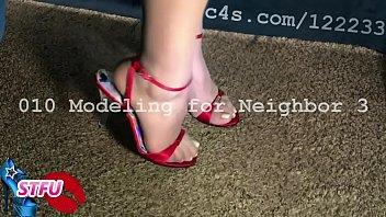 Milf Modeling High Heels and Sharing Sexy Fantasy Talk