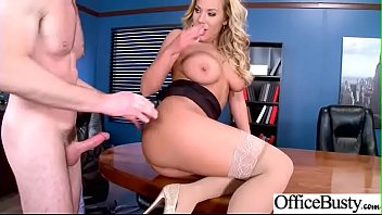 Sexy Busty Girl (Olivia Austin) Show In Office Her Sex Skills vid-30