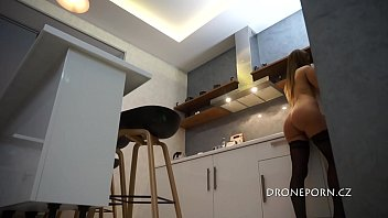 Czech teen cooking - Nudist Eva