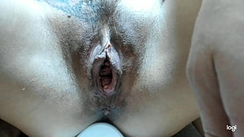 Anal show and golden shower for Andrey.
