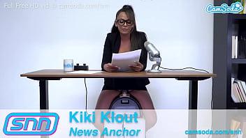 Camsoda News Anchor Kiki Klout Manual Override