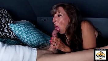Hot Milf Sucks So GOOD He Cums 3 Times porno izle