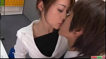 Maki Hojo amazing scenes of dazzling porn at the office  - More at Japanesemamas com 12 min