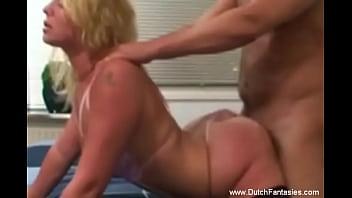 Prety Dutch Blonde Girlfriend Nice Sex Tonight Just To