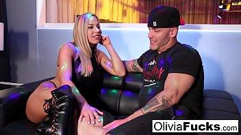 Stacked blonde stripper takes on a customer in the VIP Vorschaubild
