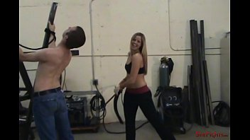 Taylor Dawn's Turn For The Whip - Cheerful and Cruel Cassidy Tests Her Whips