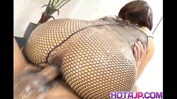 Miyo Kasuge gets cock and lotion over body