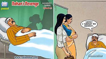Indian sex cartoon Velamma episode 71 - rohans revenge
