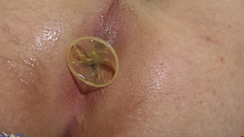 condom buttplug complete insertion