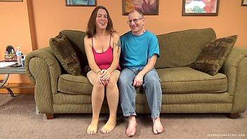 Big titty amateur cutie lets an old man pound her cunt porno izle