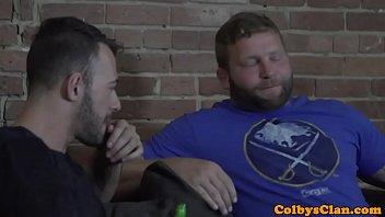 Straight jock rims and fucks best friend