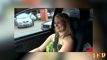 I fucked the blonde's ass in the car in the middle of the street - Melissa Alecxander - Binho Ted