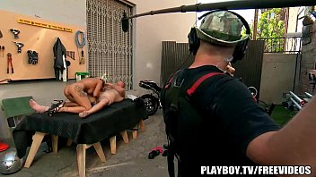 Photos of men shooting cum loads Behind the scenes at playboy tv