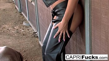 Horse Ranch Fuck With Capri And A Ripped Stud