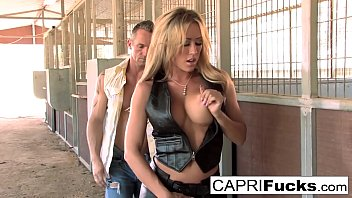 Streaming Video Horse Ranch fuck with Capri and a ripped stud - XLXX.video