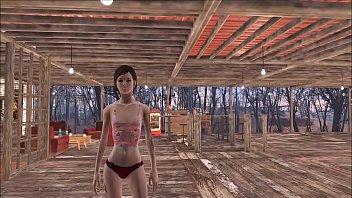 Fallout 4 Sexy Fashion Review 2