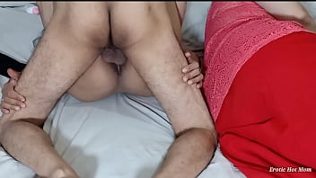 Most Risky Sex of Lucky Husband fucks american sister in law on the same bed with her indian big ass wife first time indian pakistani bhabhi threesome in european style Netu and Hubby