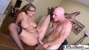 Hot Big Juggs Girl (cassidy banks) Hard Banged In Office clip-09
