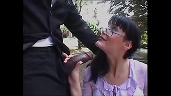 Italian Woman With Glasses Ready To Be Banged By A Black Guy