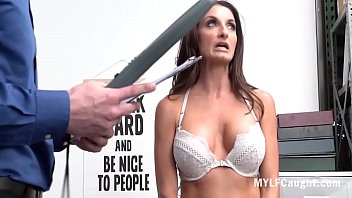 Slut's Pussy Played By Cop For Bail- Silvia Saige