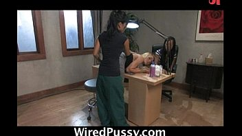 Asian Lesbians Shock And Fuck Blonde